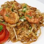 Pate Thaï aux crevettes
